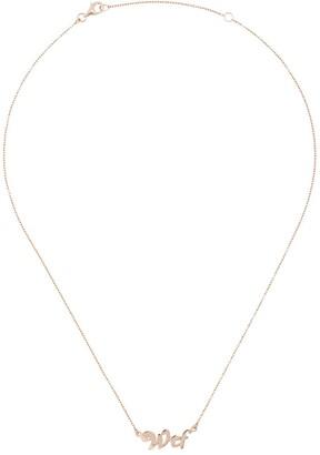 True Rocks WTF necklace