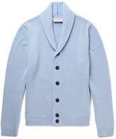 John Smedley - Patterson Slim-fit Shawl-collar Merino Wool And Cashmere-blend Cardigan