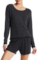 LOVE+GRACE Soft Cozy Hi-Lo Sweatshirt