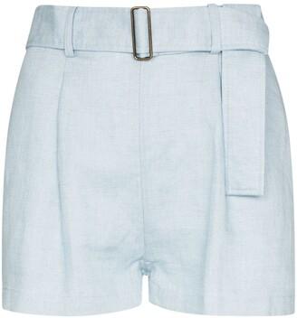 BONDI BORN Utility belted shorts