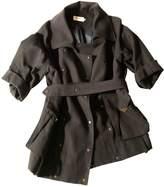 Eleven Paris Anthracite Cotton Coat for Women