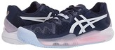 Asics Gel-Resolution 8 Clay (Peacoat/White) Women's Shoes