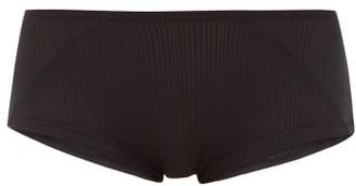 Negative Underwear Whipped Boy Stretch-micromodal Briefs - Womens - Black