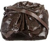 Carlos Falchi Python Crossbody Bag