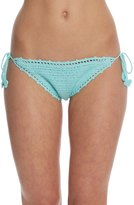 Bikini Lab Swimwear Take It Or Weave It String Tie Side Bikini Bottom 8153510