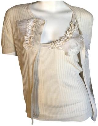Christian Dior Beige Silk Knitwear for Women Vintage