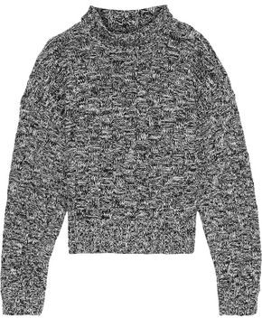 Rebecca Minkoff Montana Cotton-blend Jacquard Turtleneck Sweater