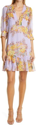 By Ti Mo Floral Georgette Dress