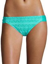 Arizona Kitty Crochet Hipster Swim Bottoms - Juniors