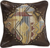 HIEND ACCENTS HiEnd Accents Ruidoso Scalloped Square Decorative Pillow