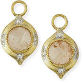 Jude Frances Moroccan 18K Morganite Earring Charms with Diamonds