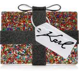 Karl Lagerfeld Kado Present Minaudiere Clutch Bag