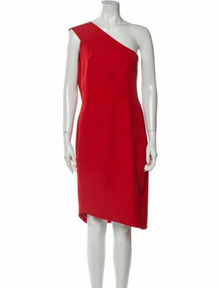 Narciso Rodriguez 2019 Knee-Length Dress Red