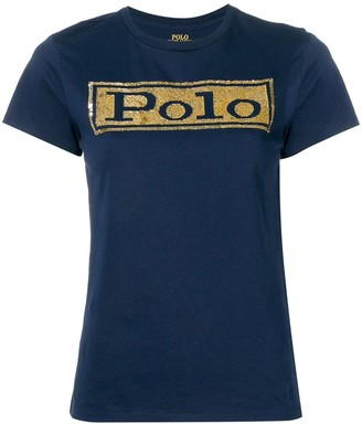 Polo Ralph Lauren sequinned T-shirt