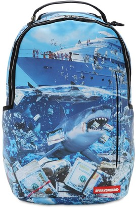 Sprayground The Shark Of Wall Street Backpack