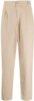 Folk Mid-Rise Tapered Trousers