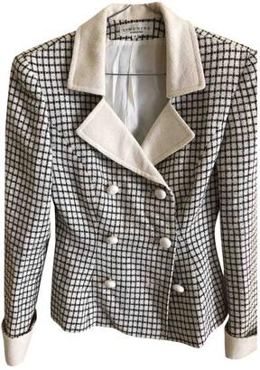 Georges Rech Ecru Wool Jacket for Women