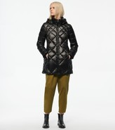Andrew Marc Final Sale CLAREMONT SYNTHETIC DOWN DIAMOND QUILT PUFFER