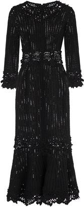 Dolce & Gabbana Macrame Sheath Dress