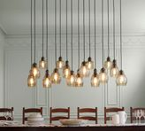 Pottery Barn Paxton Glass 16-Light Pendant