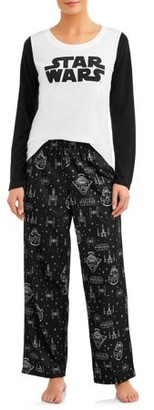 Star Wars Matching Family Pajamas Women's 2-Piece Sleep Set
