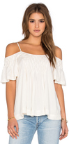 Ella Moss Stella Cold Shoulder Tank