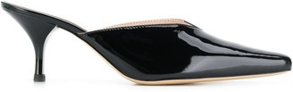 Kalda Patent Leather Mules