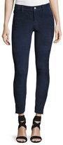 J Brand Jeans Suede Super-Skinny Pants, Dark Blue