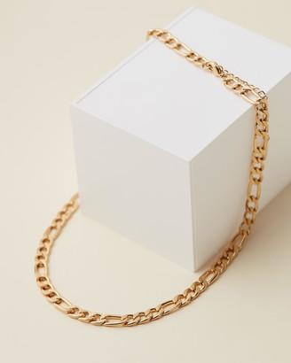 Orelia London Flat Larger Link Chain Necklace