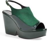 Robert Clergerie 'Dania' Slingback Platform Sandal (Women)