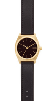 Nixon Time Teller Leather Watch