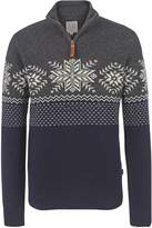 Fat Face Snowflake Novelty Half Neck Jumper