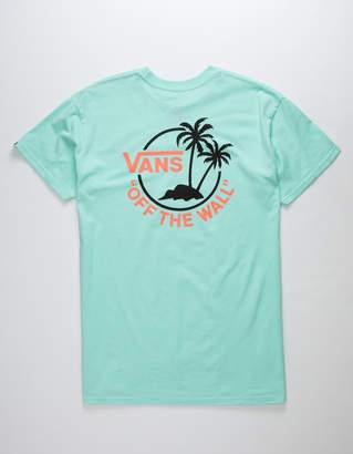 Vans Surf Palm Mint Mens T-Shirt