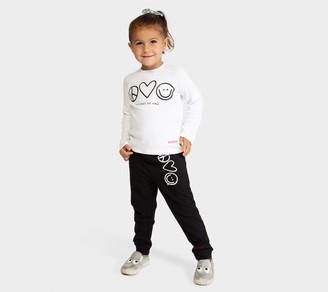 Peace Love World Triple Symbol 2-Piece ToddlerSet