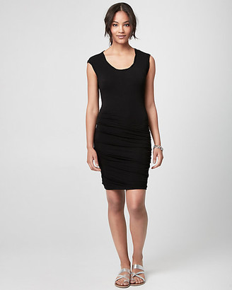 Le Château Jersey Scoop Neck Tunic Dress