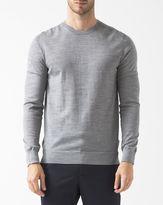 HUGO BOSS Hugo Grey Wool Jumper