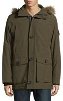 Nautica Faux Fur-Trimmed Hooded Parka