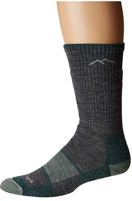 Darn Tough Vermont Merino Wool Boot Socks Full Cushion (Slate) Women's Crew Cut Socks Shoes