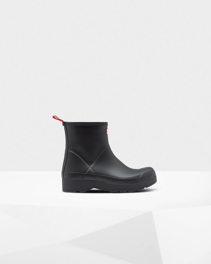 Hunter Men's Original Play Insulated Short Rain Boots