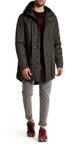 Hunter Hooded Long Sleeve Outerwear Parka Jacket