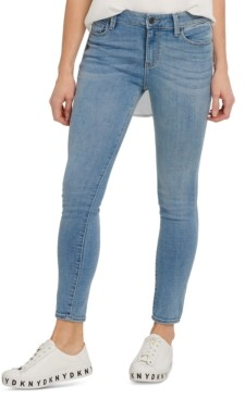 DKNY High-Rise Skinny-Fit Ankle Jeans