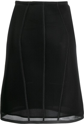 Fendi Micromesh Skirt