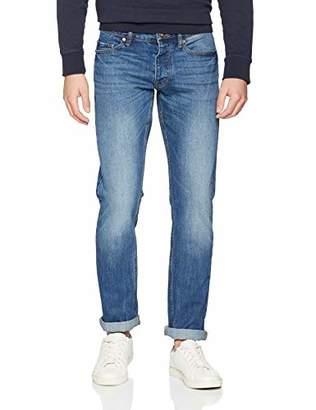 Benetton Men's Jeans 5 Tasche Basico Denim Regular Weist Straight Regular