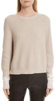 Helmut Lang Women's Layered Rib Pullover