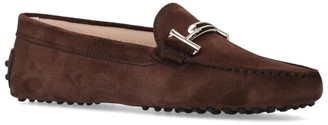 Tod's Suede Gommini Maxi Doppia Driving Shoes