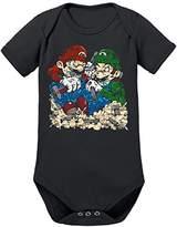 Touchlines Baby Mario Vs Luigi Bodysuit,80 (EU)
