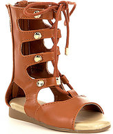MICHAEL Michael Kors Girls' Demi Carly Lace-Up Gladiator Sandals