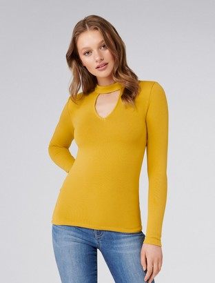 Ever New Esther V Neck Halo Cut And Sew Top