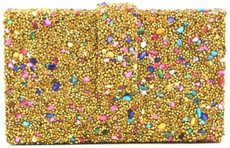 Gold Candy Crystal Clutch