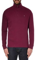 Polo Ralph Lauren Quarter Zip Mock Neck Sweater Monarch Red Small S